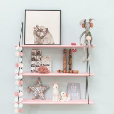 Wandplanken in de baby- of kinderkamer