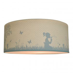 Land of Kids silhouette lamp dandelion mint