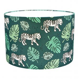 Land of Kids hanglamp jungle tijger groen